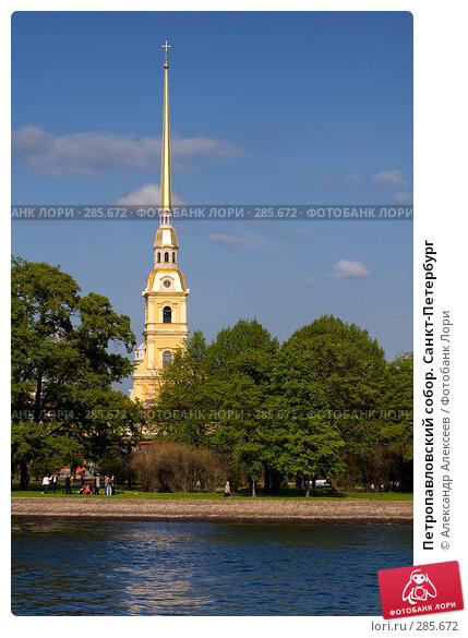 Купить «Петропавловский собор. Санкт-Петербург», эксклюзивное фото № 285672, снято 25 мая 2006 г. (c) Александр Алексеев / Фотобанк Лори