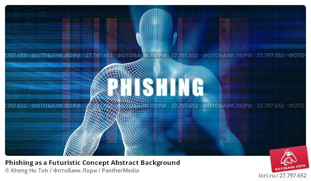 Купить «Phishing as a Futuristic Concept Abstract Background», фото № 27797652, снято 17 октября 2018 г. (c) PantherMedia / Фотобанк Лори