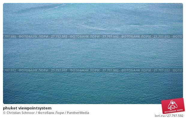 Купить «phuket viewpointsystem», фото № 27797592, снято 20 февраля 2018 г. (c) PantherMedia / Фотобанк Лори