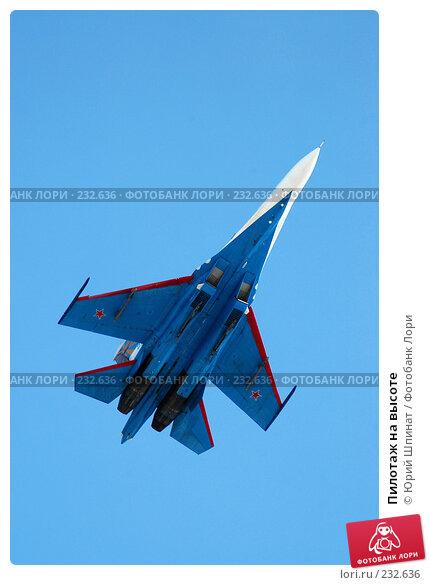 Купить «Пилотаж на высоте», фото № 232636, снято 22 марта 2008 г. (c) Юрий Шпинат / Фотобанк Лори