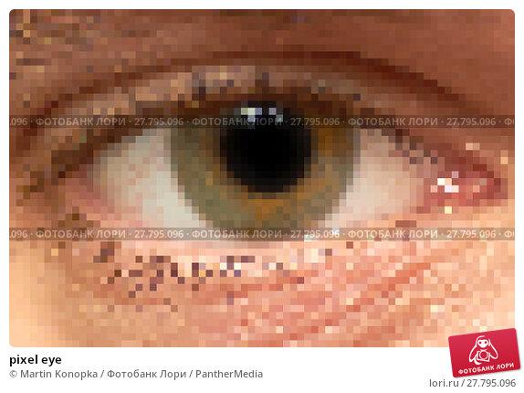 Купить «pixel eye», фото № 27795096, снято 21 февраля 2018 г. (c) PantherMedia / Фотобанк Лори