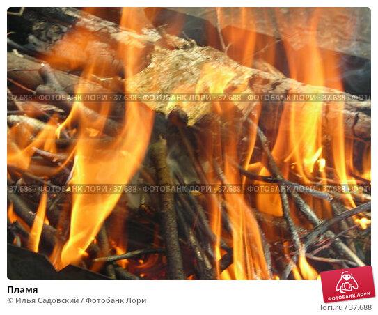 Пламя, фото № 37688, снято 1 мая 2007 г. (c) Илья Садовский / Фотобанк Лори