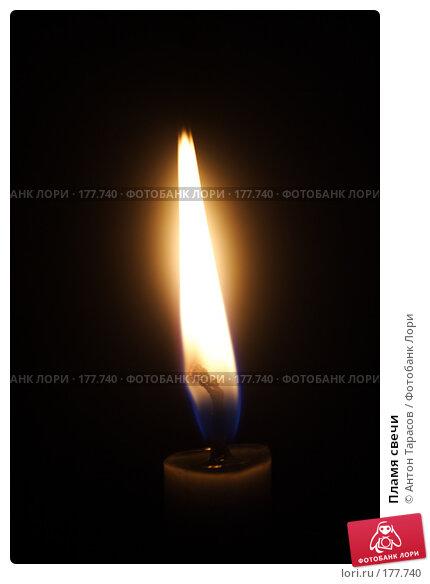 Купить «Пламя свечи», фото № 177740, снято 25 ноября 2017 г. (c) Антон Тарасов / Фотобанк Лори