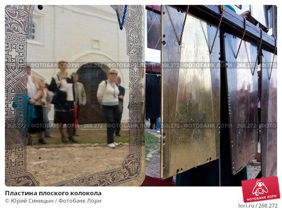 Пластина плоского колокола, фото № 268272, снято 27 апреля 2008 г. (c) Юрий Синицын / Фотобанк Лори