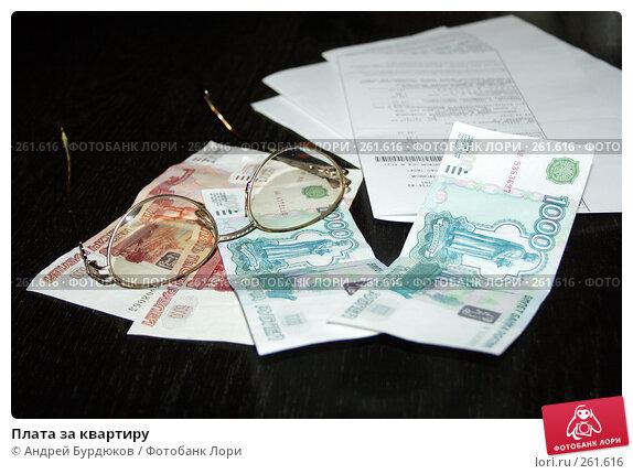 Плата за квартиру, фото № 261616, снято 17 апреля 2008 г. (c) Андрей Бурдюков / Фотобанк Лори