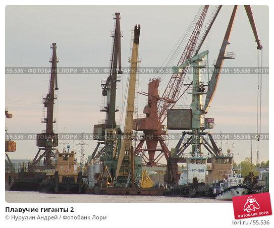 Купить «Плавучие гиганты 2», фото № 55536, снято 22 июня 2007 г. (c) Нурулин Андрей / Фотобанк Лори