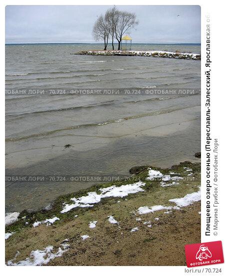Плещеево озеро осенью (Переславль-Залесский, Ярославская область), фото № 70724, снято 1 ноября 2004 г. (c) Марина Грибок / Фотобанк Лори