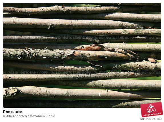 Плетение, фото № 74140, снято 12 августа 2007 г. (c) Alla Andersen / Фотобанк Лори