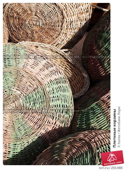Плетеные корзины, фото № 250888, снято 12 сентября 2007 г. (c) hunta / Фотобанк Лори