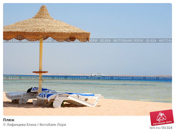 Купить «Пляж», фото № 83024, снято 21 августа 2007 г. (c) Лифанцева Елена / Фотобанк Лори