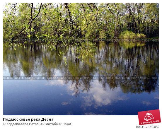 Купить «Подмосковье река Десна», фото № 140832, снято 7 мая 2005 г. (c) Кардаполова Наталья / Фотобанк Лори