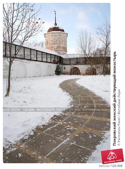 Покровский женский действующий монастырь, фото № 120908, снято 18 ноября 2007 г. (c) Parmenov Pavel / Фотобанк Лори