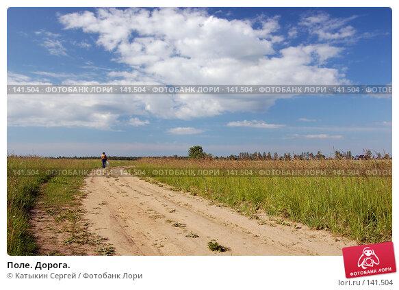 Поле. Дорога., фото № 141504, снято 24 июня 2007 г. (c) Катыкин Сергей / Фотобанк Лори