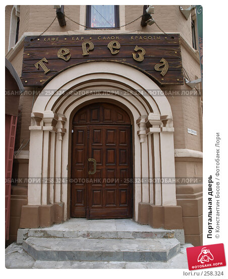 Портальная дверь, фото № 258324, снято 21 октября 2016 г. (c) Константин Босов / Фотобанк Лори