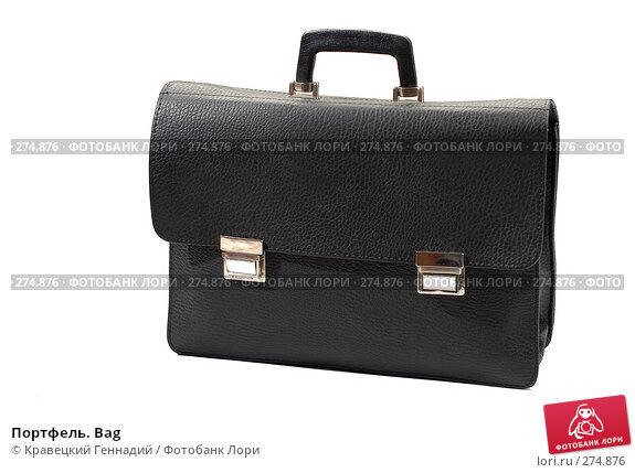 Купить «Портфель. Bag», фото № 274876, снято 6 ноября 2005 г. (c) Кравецкий Геннадий / Фотобанк Лори