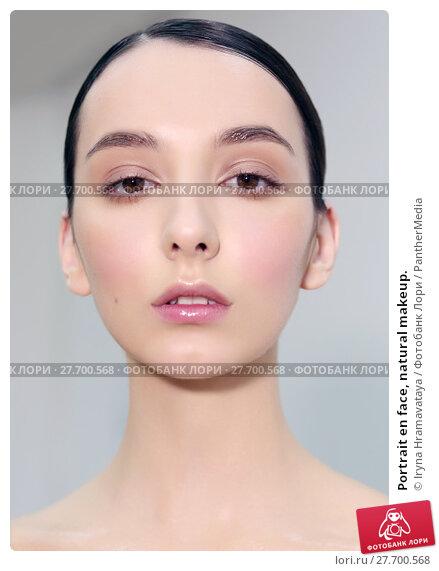 Купить «Portrait en face, natural makeup.», фото № 27700568, снято 18 февраля 2019 г. (c) PantherMedia / Фотобанк Лори