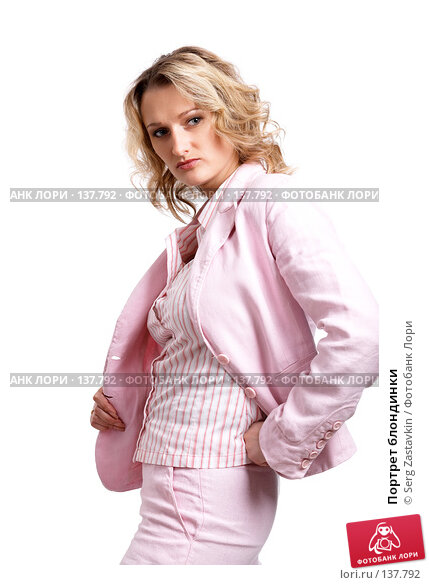 Портрет блондинки, фото № 137792, снято 18 апреля 2007 г. (c) Serg Zastavkin / Фотобанк Лори