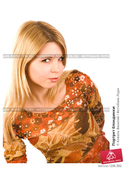 Портрет блондинки, фото № 236392, снято 25 октября 2016 г. (c) Коваль Василий / Фотобанк Лори