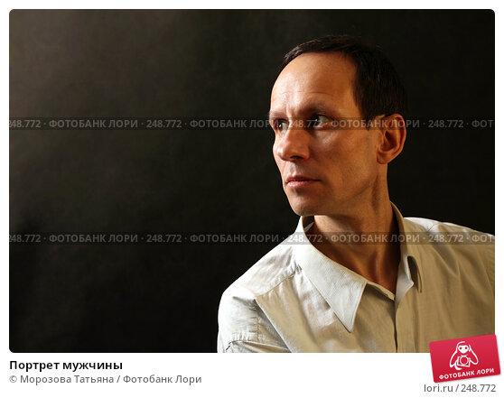 Портрет мужчины, фото № 248772, снято 20 ноября 2007 г. (c) Морозова Татьяна / Фотобанк Лори