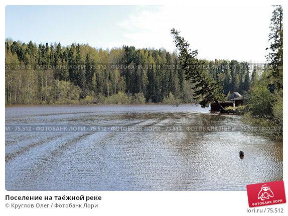 Купить «Поселение на таёжной реке», фото № 75512, снято 27 мая 2007 г. (c) Круглов Олег / Фотобанк Лори