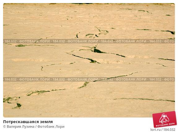 Потрескавшаяся земля, фото № 184032, снято 13 июля 2007 г. (c) Валерия Потапова / Фотобанк Лори