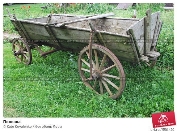 Купить «Повозка», фото № 556420, снято 18 августа 2008 г. (c) Kate Kovalenko / Фотобанк Лори