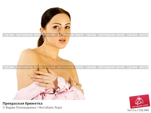 Прекрасная брюнетка, фото № 132044, снято 30 мая 2007 г. (c) Вадим Пономаренко / Фотобанк Лори