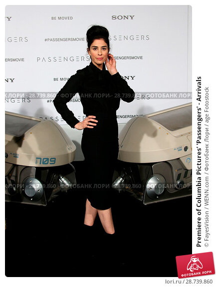 Купить «Premiere of Columbia Pictures' 'Passengers' - Arrivals Featuring: Sarah Silverman Where: Westwood, California, United States When: 15 Dec 2016 Credit: FayesVision/WENN.com», фото № 28739860, снято 15 декабря 2016 г. (c) age Fotostock / Фотобанк Лори
