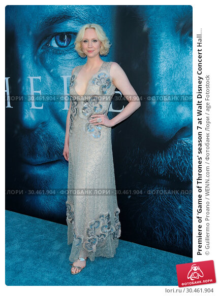 Premiere of 'Game of Thrones' season 7 at Walt Disney Concert Hall... (2017 год). Редакционное фото, фотограф Guillermo Proano / WENN.com / age Fotostock / Фотобанк Лори