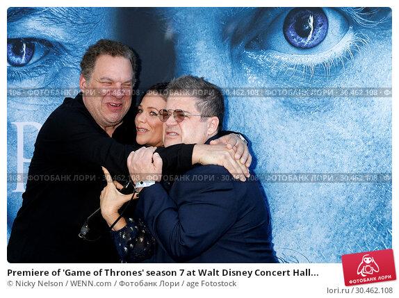 Premiere of 'Game of Thrones' season 7 at Walt Disney Concert Hall... (2017 год). Редакционное фото, фотограф Nicky Nelson / WENN.com / age Fotostock / Фотобанк Лори