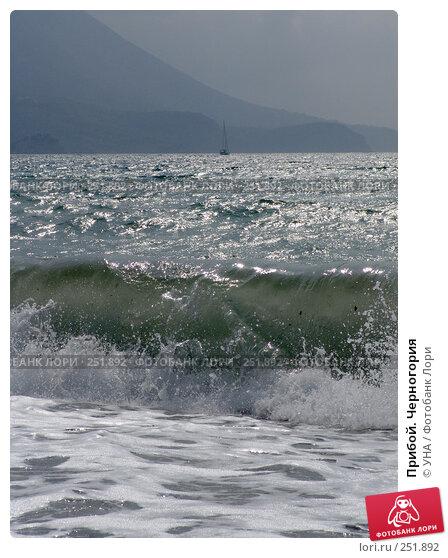 Прибой. Черногория, фото № 251892, снято 19 сентября 2007 г. (c) УНА / Фотобанк Лори