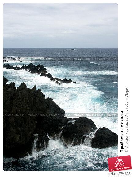 Прибрежные скалы, эксклюзивное фото № 79628, снято 4 декабря 2016 г. (c) Михаил Карташов / Фотобанк Лори