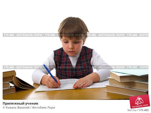 Прилежный ученик, фото № 179480, снято 22 апреля 2007 г. (c) Коваль Василий / Фотобанк Лори