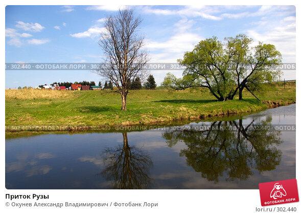 Приток Рузы, фото № 302440, снято 10 мая 2008 г. (c) Окунев Александр Владимирович / Фотобанк Лори