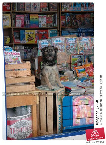Продавец книг, фото № 47584, снято 24 декабря 2006 г. (c) Максим Яковлев / Фотобанк Лори