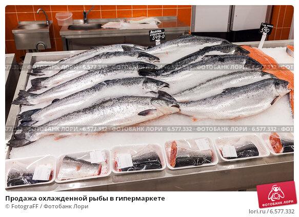 Купить «Продажа охлажденной рыбы в гипермаркете», фото № 6577332, снято 18 мая 2020 г. (c) FotograFF / Фотобанк Лори