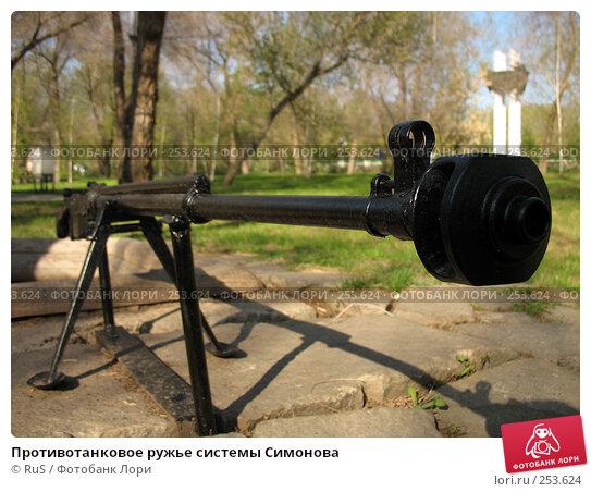 Противотанковое ружье системы Симонова, фото № 253624, снято 16 апреля 2008 г. (c) RuS / Фотобанк Лори