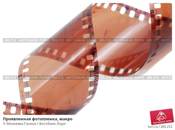 Купить «Проявленная фотопленка, макро», фото № 305212, снято 24 мая 2008 г. (c) Моисеева Галина / Фотобанк Лори