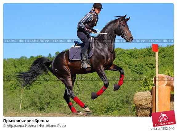 Прыжок через бревна, фото № 332940, снято 6 июня 2008 г. (c) Абрамова Ирина / Фотобанк Лори