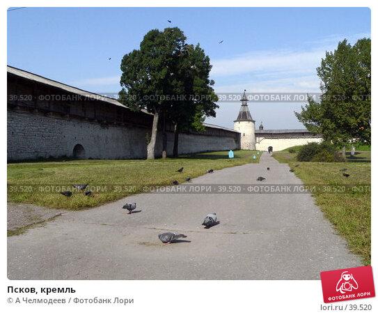 Псков, кремль, фото № 39520, снято 14 сентября 2006 г. (c) A Челмодеев / Фотобанк Лори