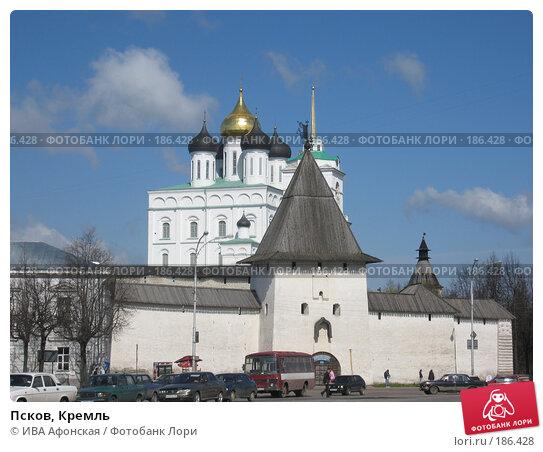 Псков, Кремль, фото № 186428, снято 4 мая 2007 г. (c) ИВА Афонская / Фотобанк Лори