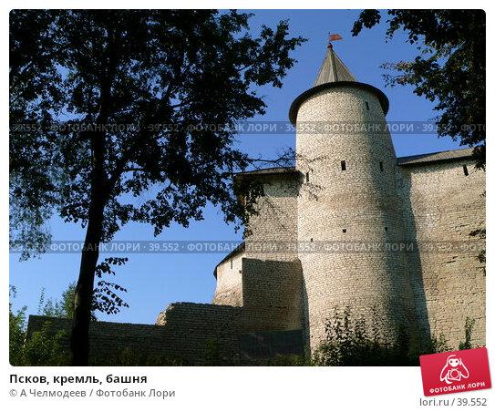 Псков, кремль, башня, фото № 39552, снято 19 сентября 2006 г. (c) A Челмодеев / Фотобанк Лори