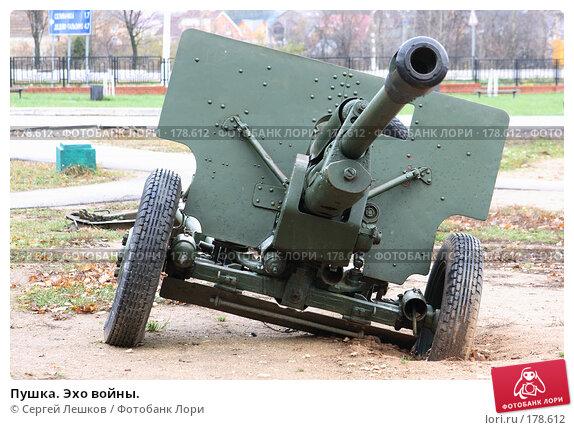Пушка. Эхо войны., фото № 178612, снято 4 ноября 2007 г. (c) Сергей Лешков / Фотобанк Лори