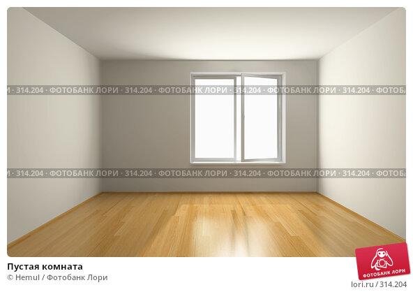 Пустая комната, иллюстрация № 314204 (c) Hemul / Фотобанк Лори