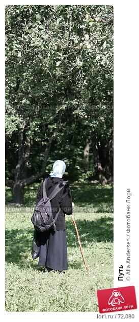 Купить «Путь», фото № 72080, снято 12 августа 2007 г. (c) Alla Andersen / Фотобанк Лори