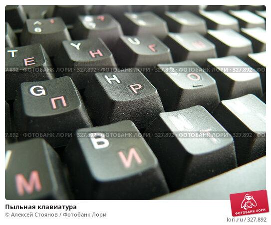 Пыльная клавиатура, фото № 327892, снято 1 июня 2008 г. (c) Алексей Стоянов / Фотобанк Лори