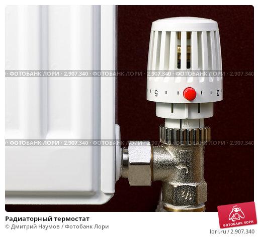 Купить «Радиаторный термостат», фото № 2907340, снято 28 ноября 2010 г. (c) Дмитрий Наумов / Фотобанк Лори