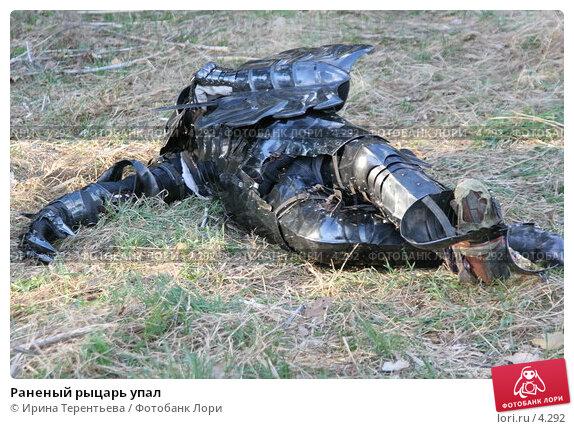 Раненый рыцарь упал, эксклюзивное фото № 4292, снято 8 мая 2006 г. (c) Ирина Терентьева / Фотобанк Лори
