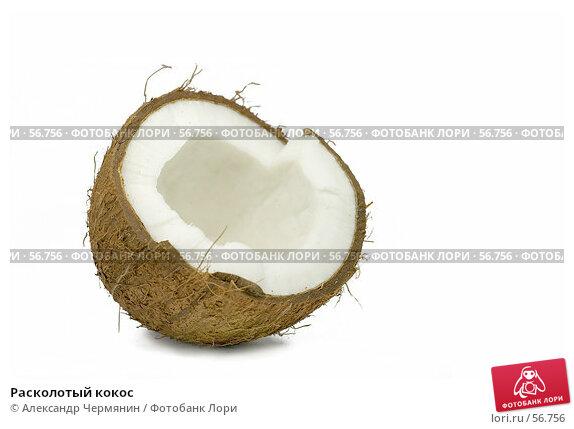 Расколотый кокос, фото № 56756, снято 11 ноября 2006 г. (c) Александр Чермянин / Фотобанк Лори