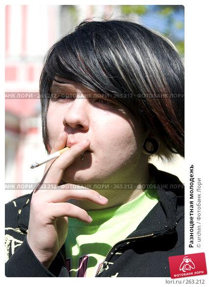 Разноцветная молодежь, фото № 263212, снято 25 апреля 2008 г. (c) urchin / Фотобанк Лори